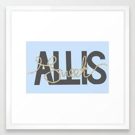 All Is Sweet Framed Art Print