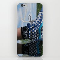 vans iPhone & iPod Skins featuring Dirty vans by Bryden McDonald