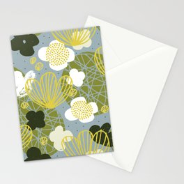 Kokedama Garden by Friztin Stationery Cards