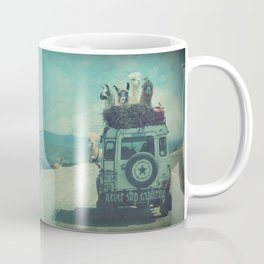 NEVER STOP EXPLORING II SOUTH AMERICA Coffee Mug