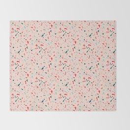Terrazzo Pattern Design Throw Blanket