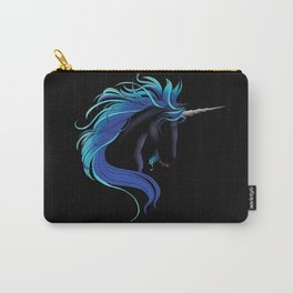 Black Unicorn Carry-All Pouch