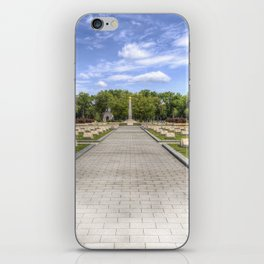 Russian War Graves Budapest iPhone Skin