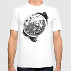 Contained  Mens Fitted Tee White MEDIUM