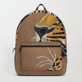 Leopard glance Backpack