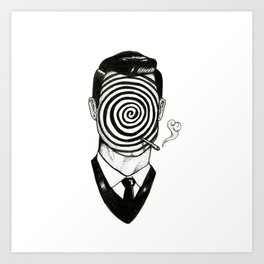 Twilight Zone Art Print
