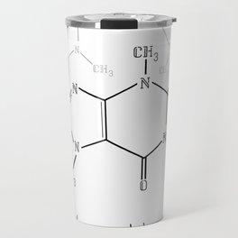 You Complete Me (Caffine Molecule) Travel Mug
