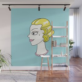 Her Ladyship (without border) by Blissikins Wall Mural