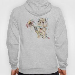 Gopher Colorful Watercolor Painting Hoody