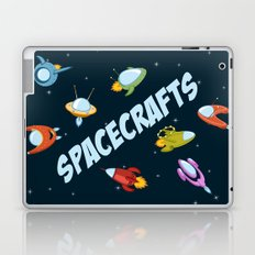 Spacecraft and rockets flying the stars Laptop & iPad Skin