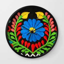Mi Jardin Wall Clock