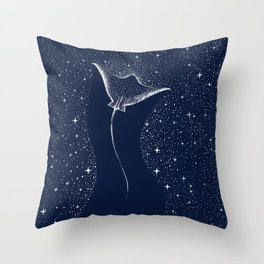 Star Collector Throw Pillow