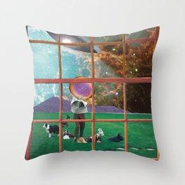 Window to My World Throw Pillow