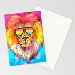 The Pan Lion Pride Stationery Cards