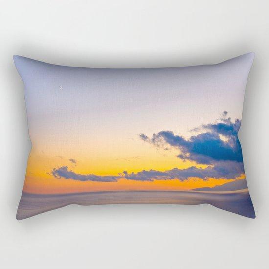 colors of the sunset Rectangular Pillow