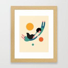 Won't Let Go Framed Art Print