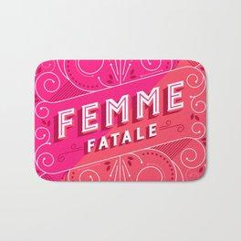 Femme Fatale Bath Mat