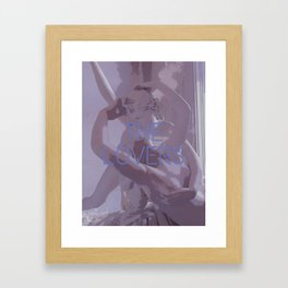 The Lovers Framed Art Print