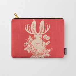 Jackalope Tattoo Carry-All Pouch