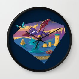 Spyro The Dragon Wall Clock
