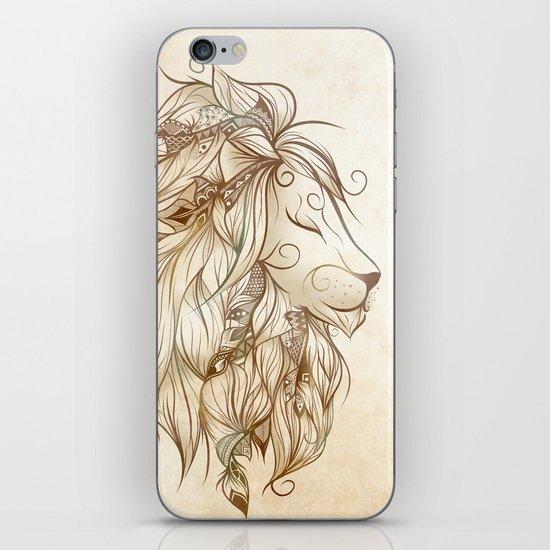 Poetic Lion iPhone Skin