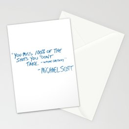 Office Quote Stationery Cards