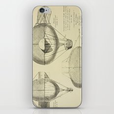 Mathieu's Airship Project iPhone & iPod Skin