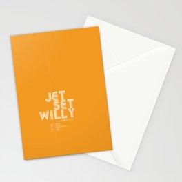 Jet Set Willy Stationery Cards