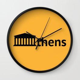 Athens Wall Clock