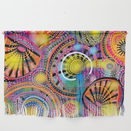 Biology of Lovers on a Rainy Night (Horizontal) Wall Hanging