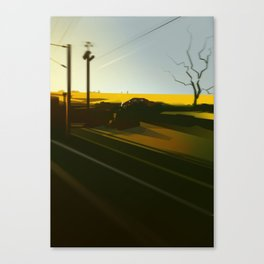 TrainBlur3 Canvas Print