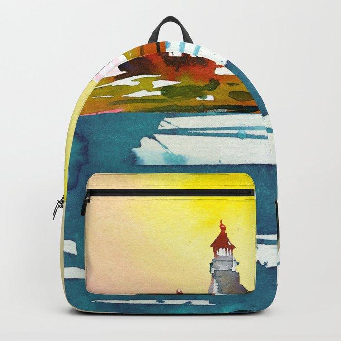 Seascape #6 Backpack