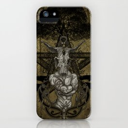 Horned God iPhone Case