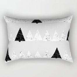 Snowy Forest Rectangular Pillow