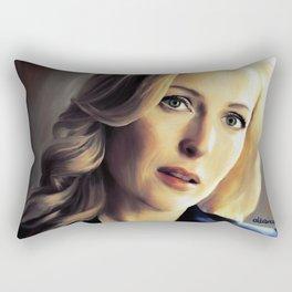 Stella Gibson oli color painting Rectangular Pillow
