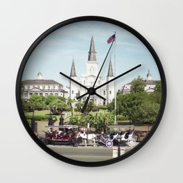 Jackson Square Wall Clock