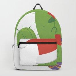Christmas cactus 2021 Backpack