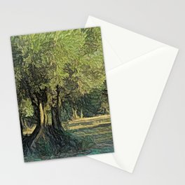 Olives in Provence Stationery Cards