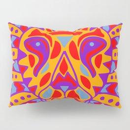 Aztec Lion Design #8 Pillow Sham