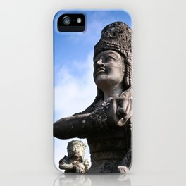 Balinese Statue iPhone Case