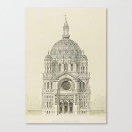 Church of St. Augustine Paris Canvas Print