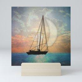 Sail Away With Me Mini Art Print