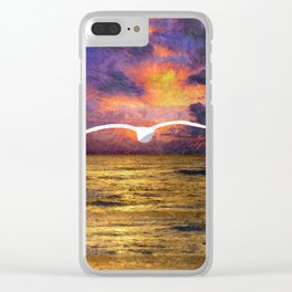 Dissolving Solidity Clear iPhone Case