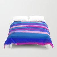 study Duvet Covers featuring Color Study by Jacqueline Maldonado