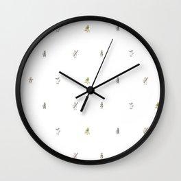 Meowtet: Pattern Wall Clock