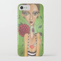 charmaine iPhone & iPod Cases featuring Tattooed by Charmaine D'Silva