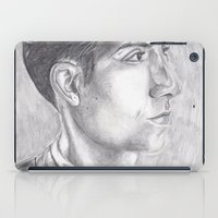 alex turner iPad Cases featuring Alex Turner Drawing by annelise johnson