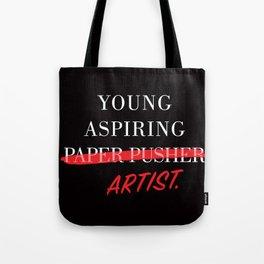 Young Aspiring Artist Tote Bag