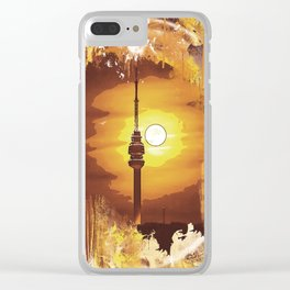 Belgrade - Avala - Graphics Clear iPhone Case