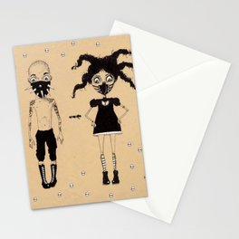 Muzzle pair Stationery Cards